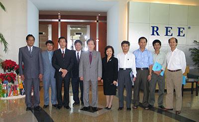 Đón tiếp Đoàn khách Chính phủ (2005)
