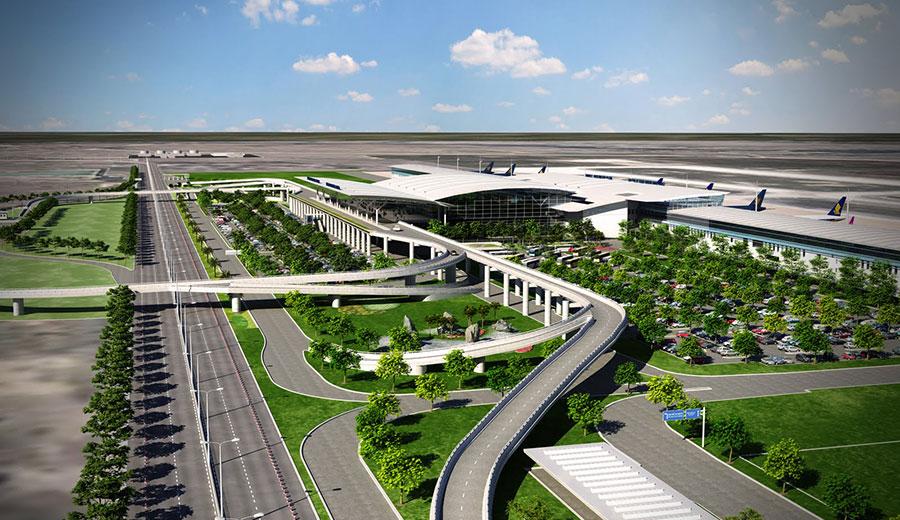 Nhà ga Hành khách T2 - Cảng Hàng không Quốc tế Nội Bài - Hà Nội