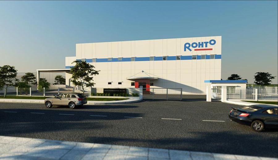 Nhà máy Dược phẩm Rohto Mentholatum Việt Nam
