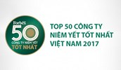 """REE đạt giải """"Top 50 Công ty niêm yết tốt nhất Việt Nam"""" năm 2017 do tạp chí Forbes Việt Nam bình chọn"""