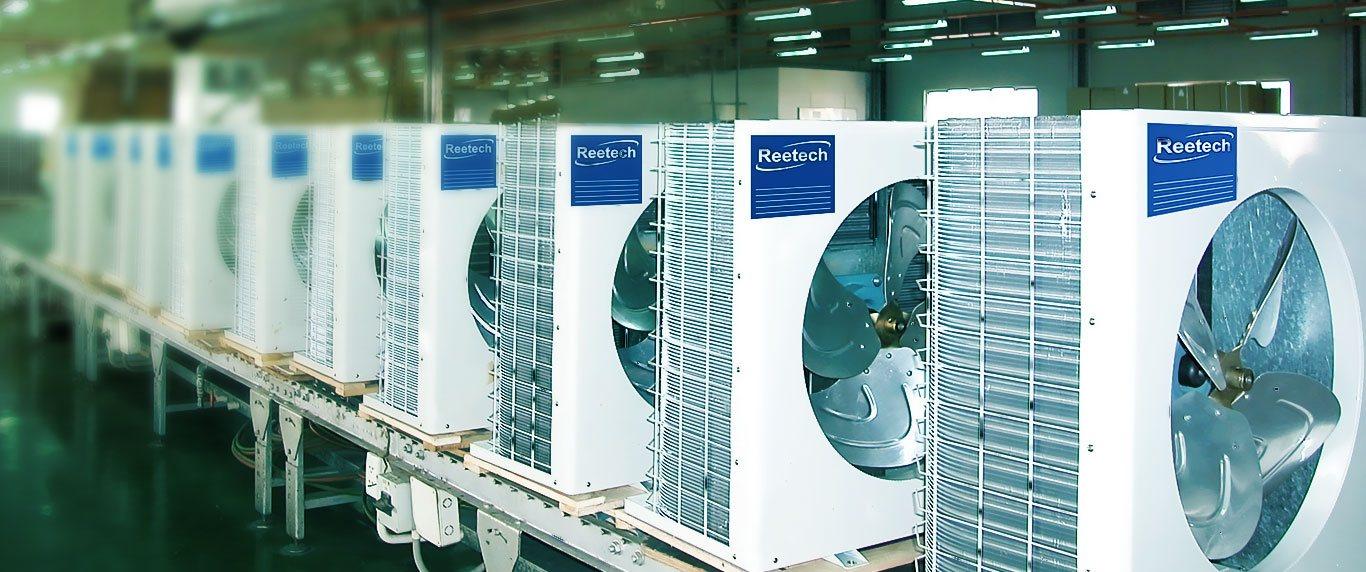 Nhà sản xuất máy điều hòa không khí với thương hiệu Reetech hướng tới tiện nghi và sức khỏe cho người sử dụng