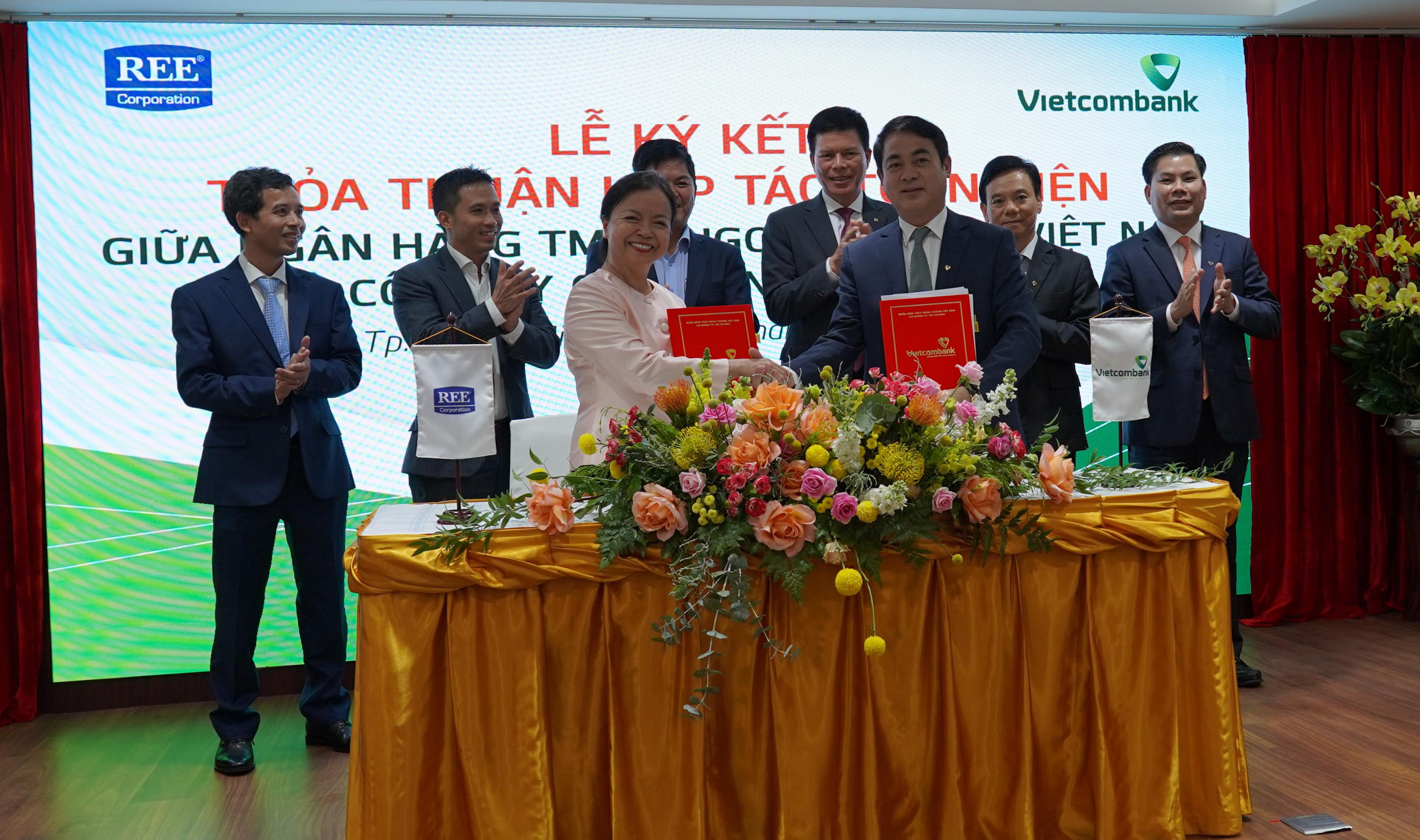 Ký kết Thỏa thuận hợp tác toàn diện REE - Vietcombank